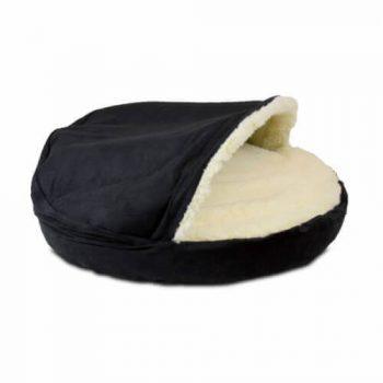 Snoozer Cozy Cave Small - Black - Luxury-0