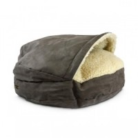 Snoozer Cozy Cave Large - Dark Chocolate