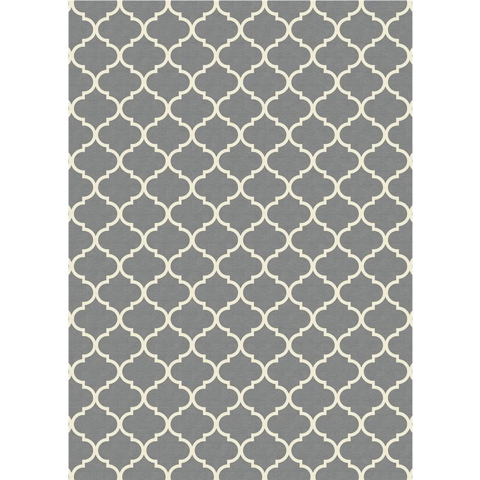 Moroccan Trellis Grey (150cm x 210 cm