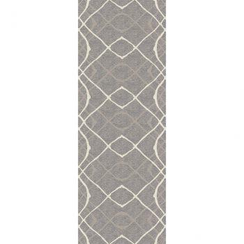Ruggable Washable Rug - Amara Grey (67 cm x 210 cm)-0