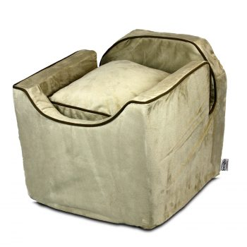 Luxury Snoozer Lookout I Honden Autostoel - Small - Buckskin (up to 8 kg)-0