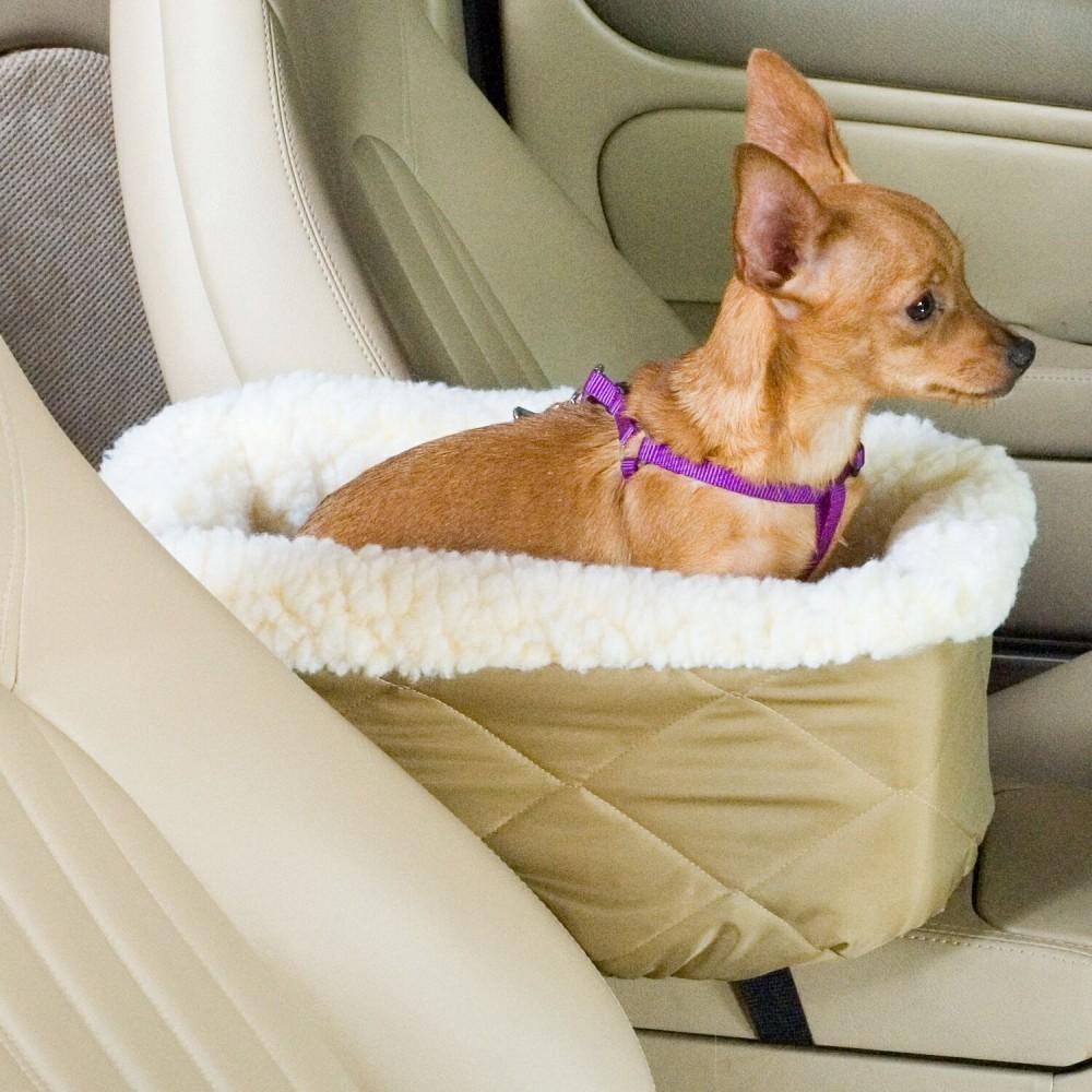 Medium Snoozer Lookout I Pet Car Seat Khaki