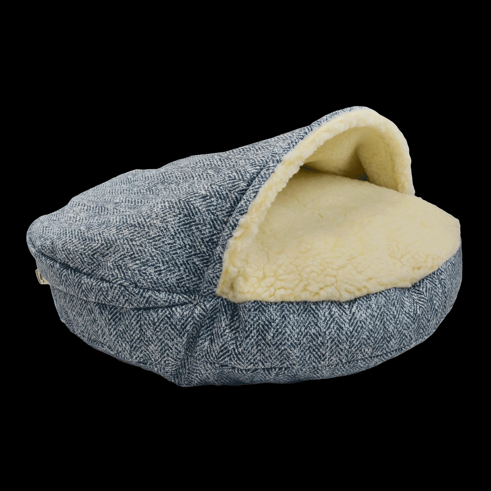 Snoozer Cozy Cave XL - Palmer Indigo - Show Dog-0