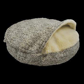 Snoozer Cozy Cave XL - Gondola Grey - WAG Collection-0