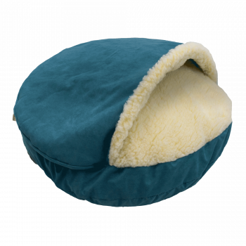 Snoozer Cozy Cave Large - Marine - Luxury-0