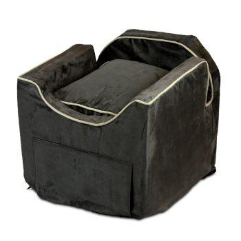 Luxury Snoozer Lookout II Honden Autostoel - Small - Dark Chocolate (up to 8 kg) - Met opberglade-0